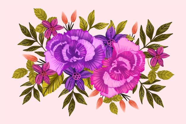 Урожай цветочный букет