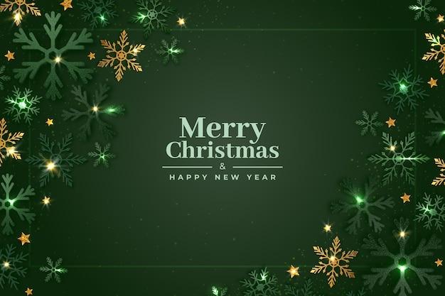 キラキラ効果でクリスマスの背景