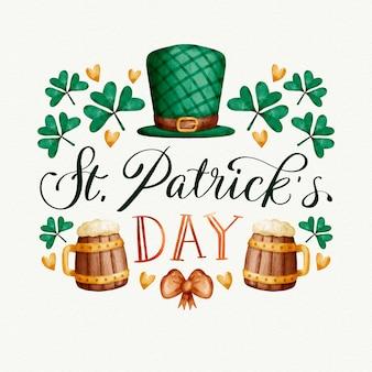 ビールと聖パトリックの日の概念