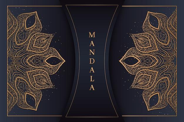 豪華なマンダラの背景