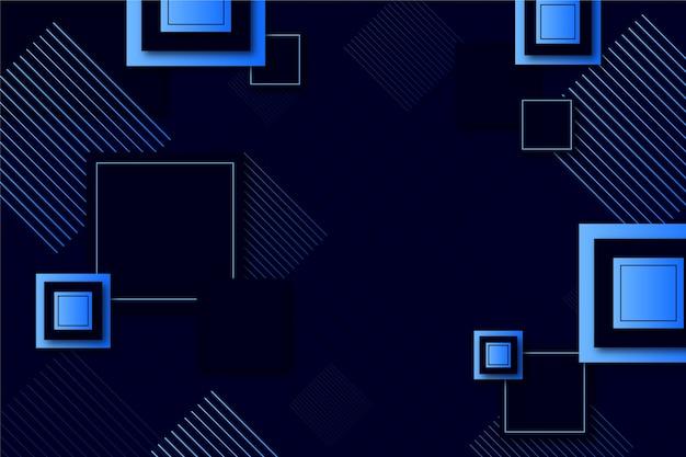 グラデーションの幾何学的形状の壁紙