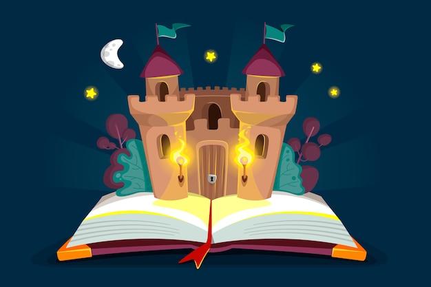 Сказочная концепция с замком