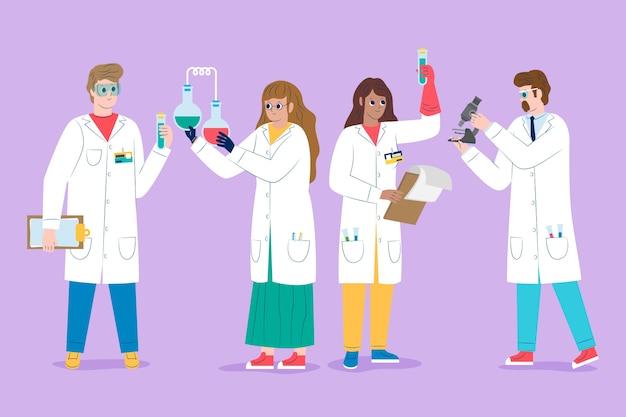 働く科学者
