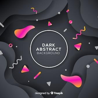 暗いの抽象的な背景