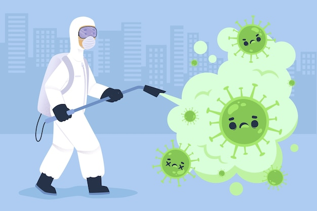 Концепция дезинфекции вирусов