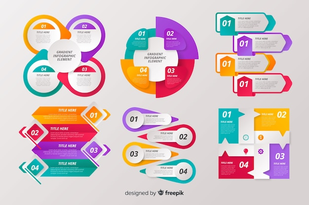 Коллекция элементов инфографики