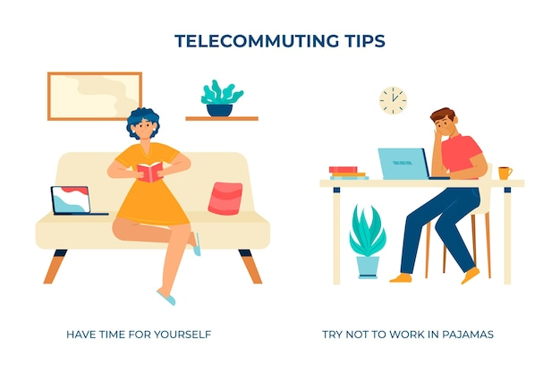 自宅で仕事をして自分の時間を作る