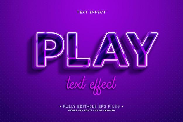 Ретро текстовый эффект