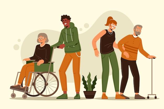 高齢者支援ボランティア