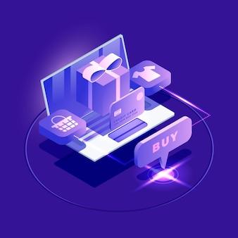 Изометрическая электронная коммерция - концепция
