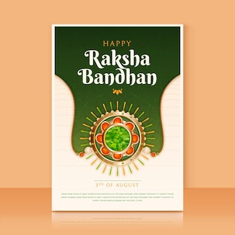 現実的なラクシャバンダングリーティングカード