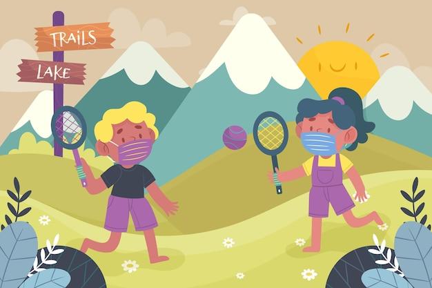 Новый нормальный в летних лагерях