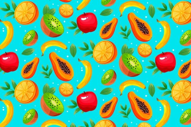 フルーツ柄のコンセプト