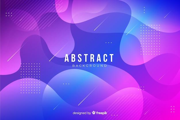 Современный фон абстрактных форм