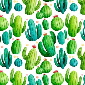 Разноцветный кактус