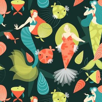 人魚パターンのコンセプト