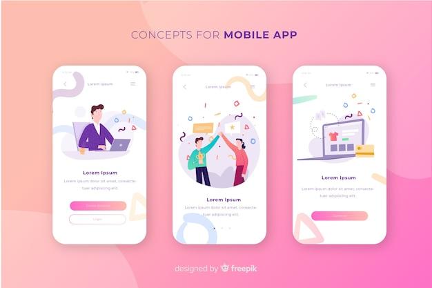 Концепция мобильного приложения