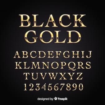 黄金のアルファベット