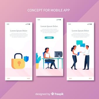 携帯アプリのコンセプト