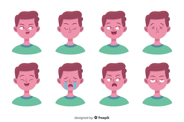 Люди, показывающие эмоции