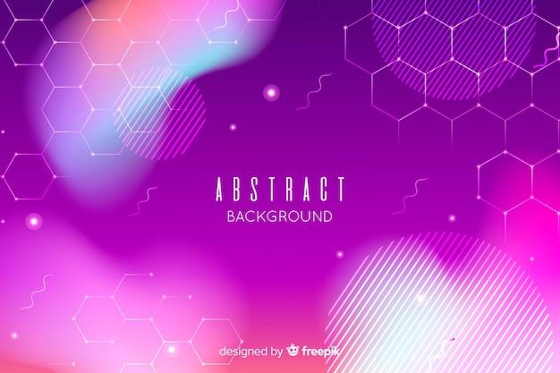 Абстрактный фон в фиолетовых тонах