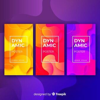 Динамическая коллекция плакатов