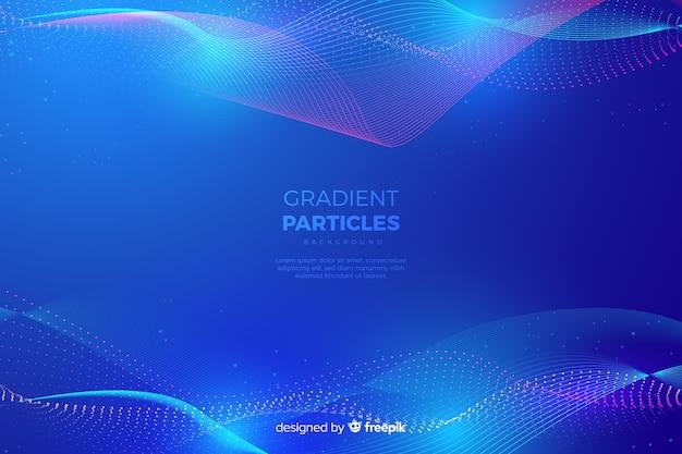 Фон градиентных частиц