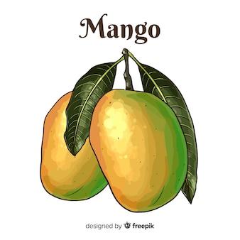 Ручной обращается манго