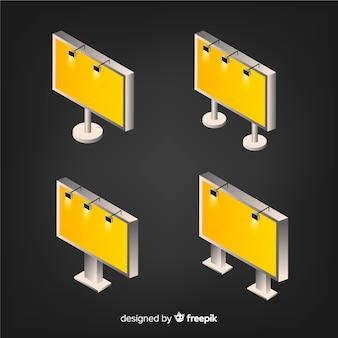 Изометрические рекламные щиты