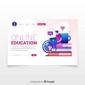 Целевая страница онлайн-обучения
