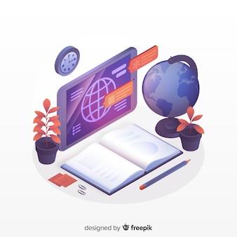 等尺性オンライン教育の概念