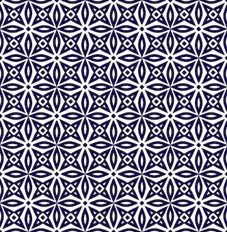 幾何学的シームレスパターン