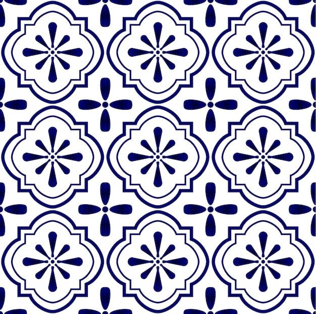 セラミックタイルパターン