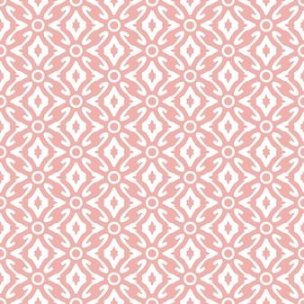 抽象的なダマスク織壁紙ピンク色