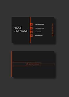 Архитектор визитной карточки