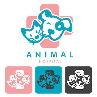 動物病院のロゴ