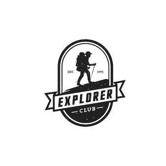 Кемпинг логотипы