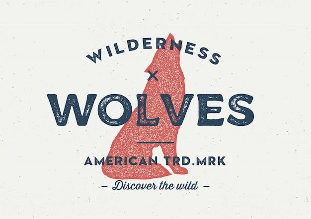 Волк логотип