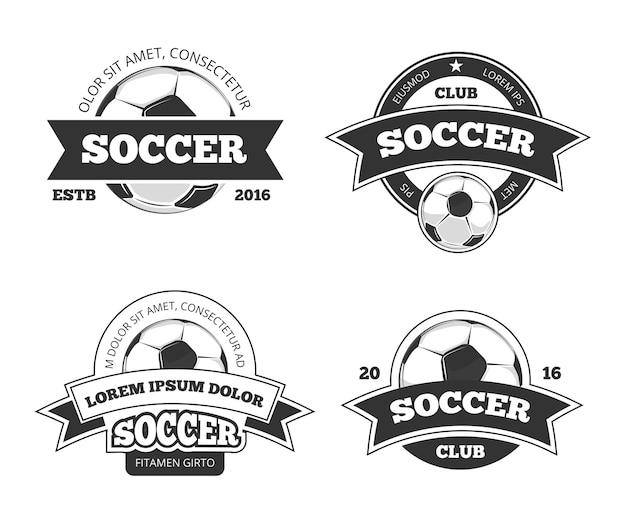 サッカーのラベル