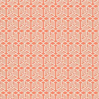最小限の幾何学的なヴィンテージシームレスパターンデザイン