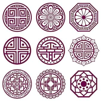 韓国の装飾