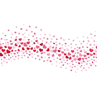 魅力的な結婚式とバレンタイン抽象的なベクトルの背景