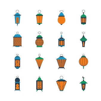 Старый рамадан исламские фонари