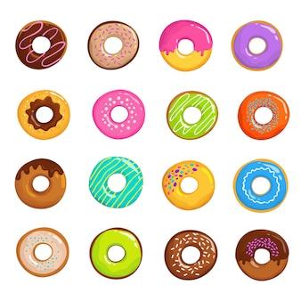 漫画艶をかけられた甘いドーナツ分離ベクトルを設定