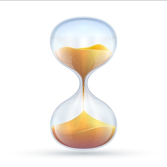 Старинные песочные часы