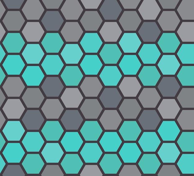 ベクトルの石床のシームレスなパターン