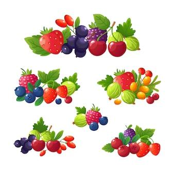 Свежие летние ягоды