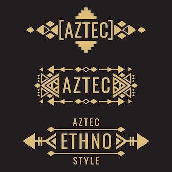 Племенные ацтекские мексиканские украшения