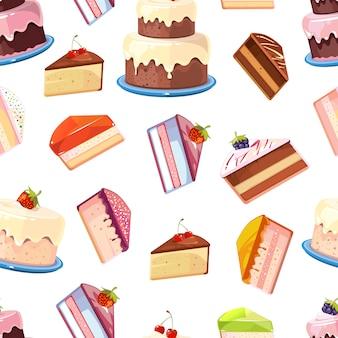 Торт бесшовные модели