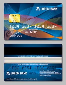 クレジットカードテンプレート